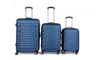 Reisekofferset Zwillingsrollen Hartschale